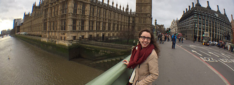 Transy student in London
