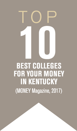 Top 10 Best Colleges for your money in Kentucky - Money Magazine, 2017