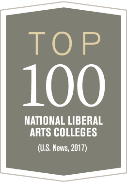 Top 100 National Liberal Arts Colleges, US News, 2017