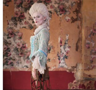 Marie Antoinette (actor in costume)