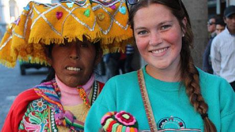 Rachel in Peru