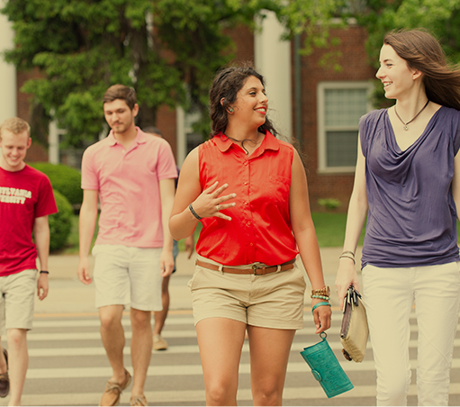 Photo of Transy Students on Campus