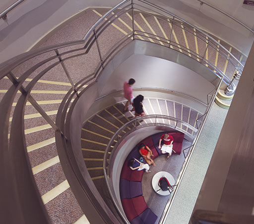 Staircase on Transy Campus
