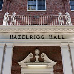 Hazelrigg Entrance