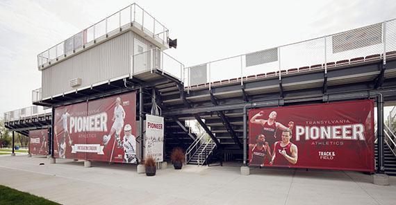 Athletics Complex Signs
