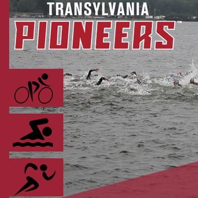 Transylvania Pioneers Triathlon graphic