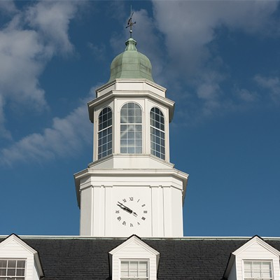Carpenter Center clock