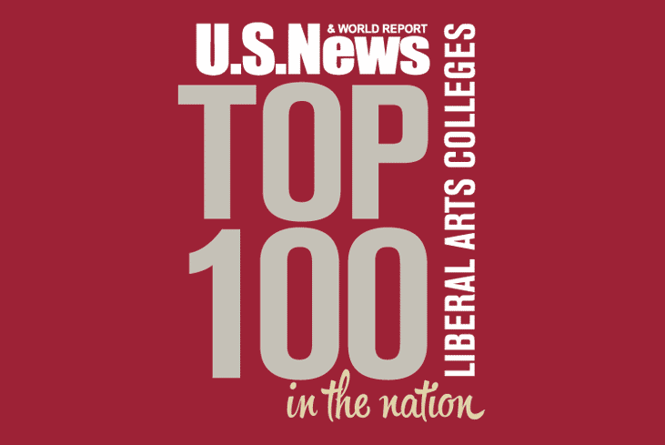 U.S. News & World Report top 100 liberal arts colleges in the nation