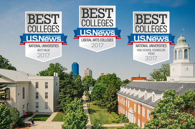 US News Best Colleges: National Universities Best Value 2017 | LIberal Arts Colleges 2017 | National Universities-High School Counselor PIcks 2017