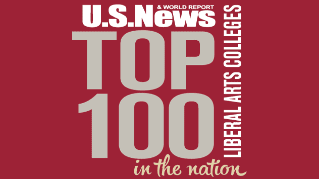 U.S. News & world report - top 100 liberal arts colleges in the nation