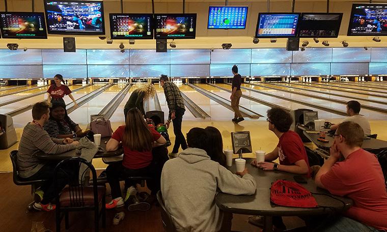 Crimson Compass groups bowling